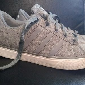 Adidas gray size 3 sneakers